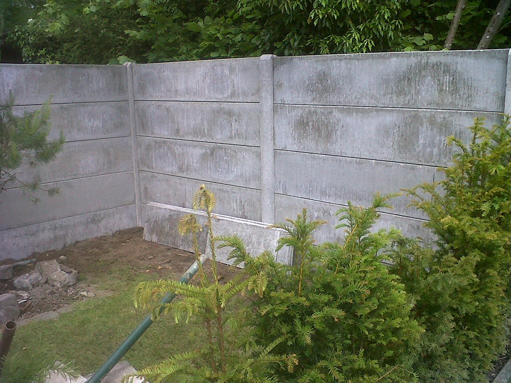 beton platen afsluiting