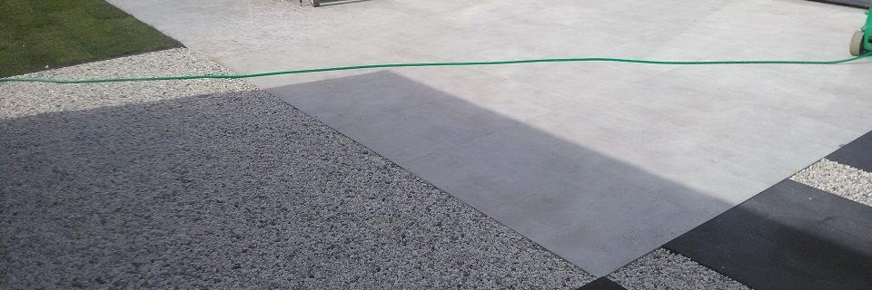 Perfecte aanleg van terrassen en opritten